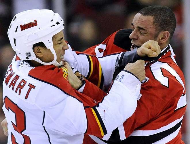 Dos jugadores se pelean