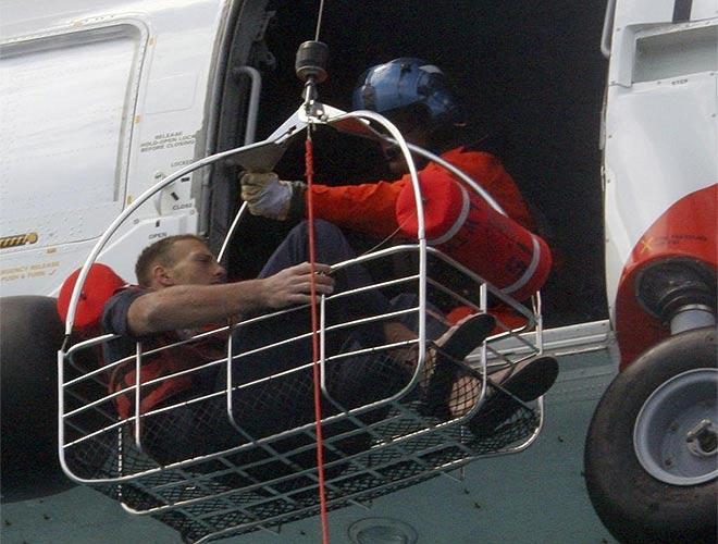 Schuyler es rescatado