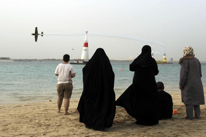 Carrera en Abu Dhabi