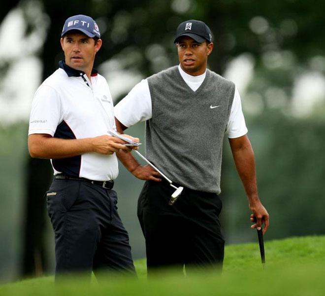 Tiger y Harrington