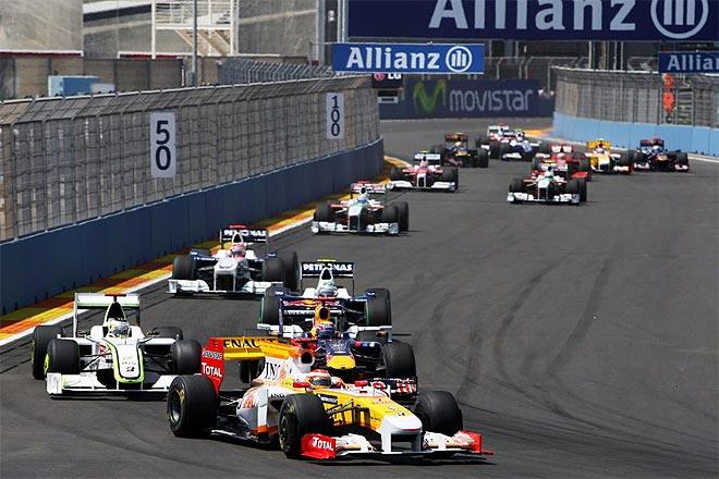 La carrera de Valencia