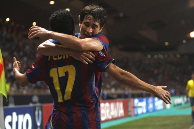 Pedro y Bojan