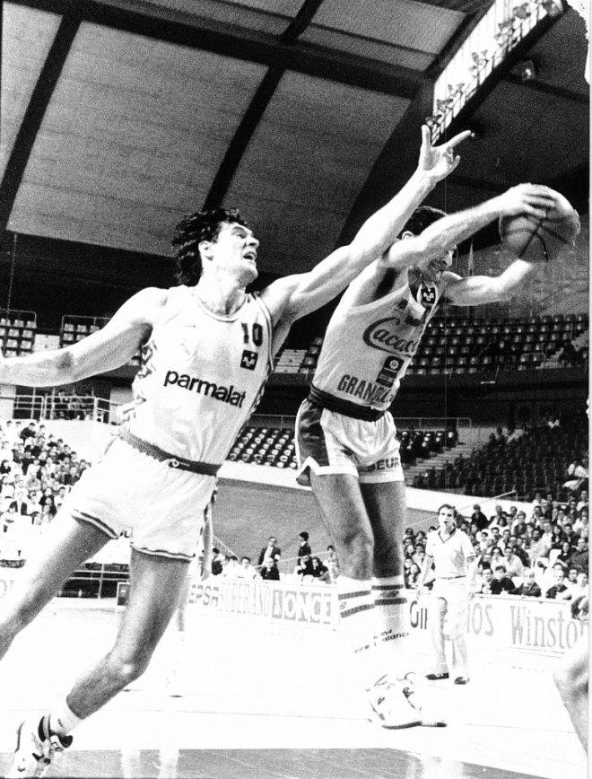 Joan Creus, ahora director deportivo del Regal Barcelona, tambi�n se vio las caras con Fernando Mart�n