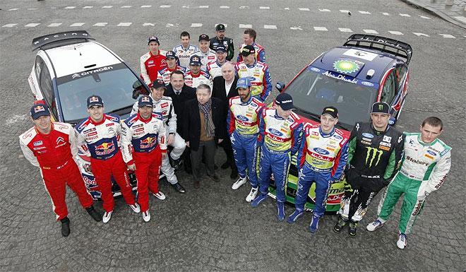 Todt, con el equipo Citro�n y el equipo Ford