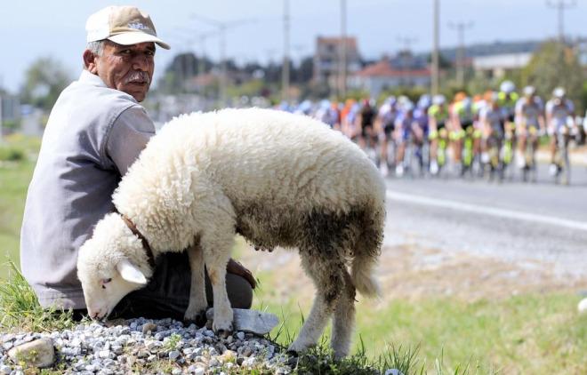 Espectadores en la Vuelta a Turqu�a