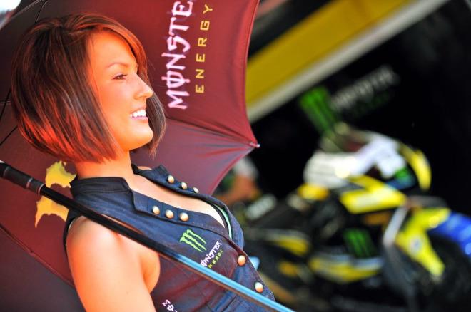 Chica del equipo Yamaha Teach 3
