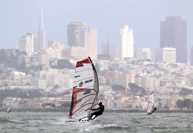 Estos d�as se celebra en California los Campeonatos Nacionales de Windsurfing.