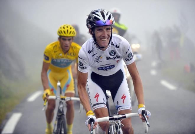 Andy Schleck, como era previsible, lanz� un ataque en el ascenso del Tourmalet, no le quedaba otra si quer�a ganar el Tour.