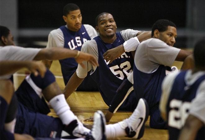 La selecci�n norteamericana de baloncesto ya se ejercita en Las Vegas de cara al Mundial que se celebrar� en Turqu�a.
