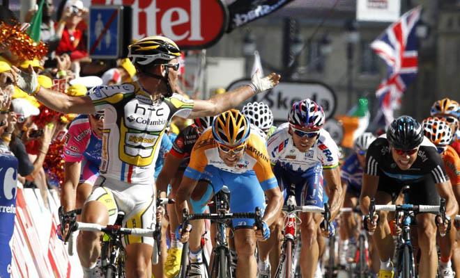 Cavendish se impuso con una increíble superioridas sobre todo los sprinters que han dominado las volatas en los años pasados. Ahora es el turno de su hegemonía.