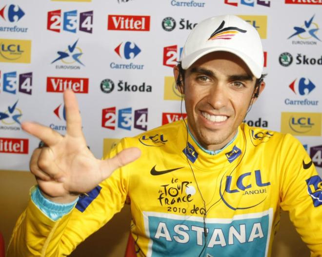 Alberto Contador ya tiene en la manga el tercer Tour de Francia de su carrera.