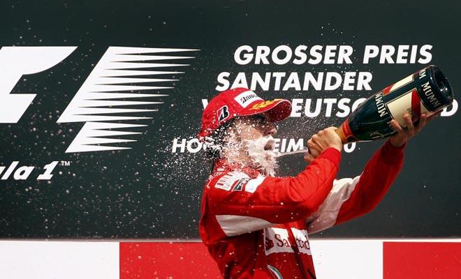 Fernando estaba radiante y no era para menos, consigui� remontar una buena cantidad de puntos en la clasificaci�n y puede volver a pensar en el campeonato de pilotos.