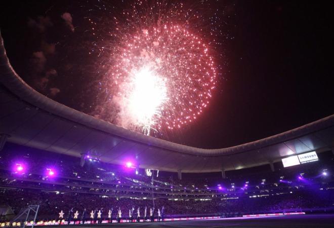 El conjunto mexicano estren� oficialmente la que ser� su nueva casa, el Estadio Omnilife, con un encuentro amistoso ante el Manchester United.