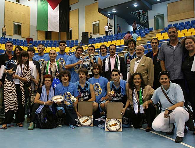 El conjunto colegial sub 21 realiz� un viaje a Palestina, donde particip� en un partido internacional