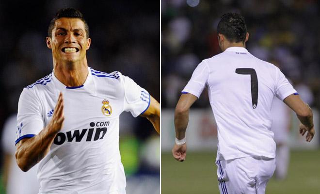 Esta será la primera vez en muchos años que el '7' de la camiseta blanca no recala en las espaldas de Raúl. Cristiano Ronaldo será el encargado de dignificar el número.
