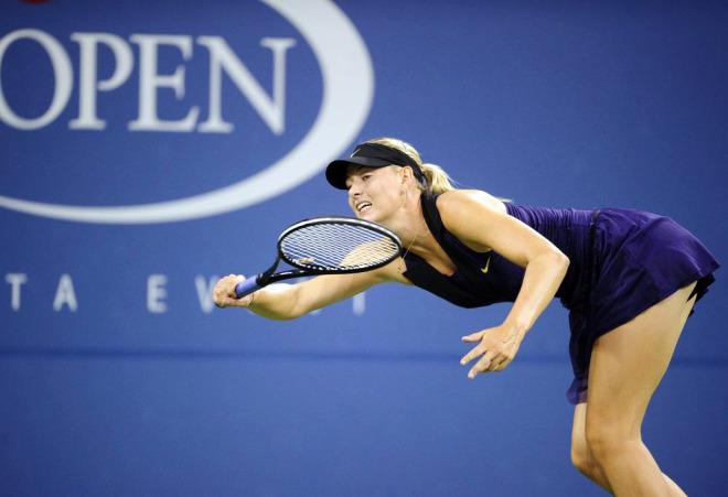 Maria Sharapova no tuvo problemas y se clasificó a la tercera ronda del US Open tras derrotar a la checa Iveta Benesova.