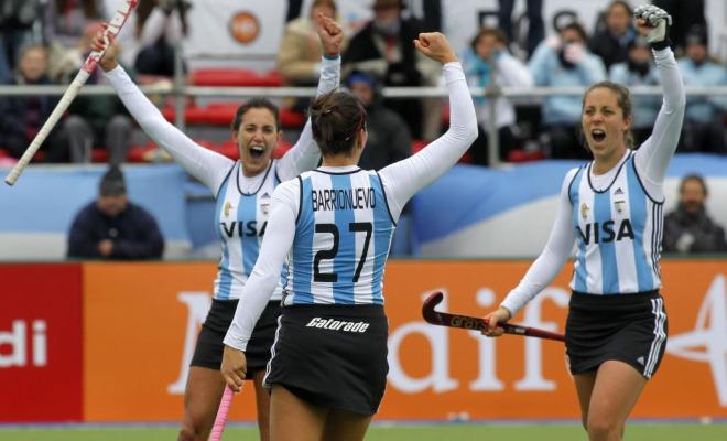 Las chicas de la selecci�n de Hockey Hierba no pudieron hacer nada ante el poder�o de las argentinas y perdieron por 0-4 despidi�ndose de toda opci�n en el Mundial.