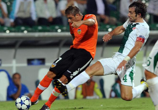 El extremo andaluz fue otra vez protagonista en el f�tbol de ataque de los de Emery. Joaqu�n ha cogido m�s responsabilidad desde la marcha de Villa y Silva.