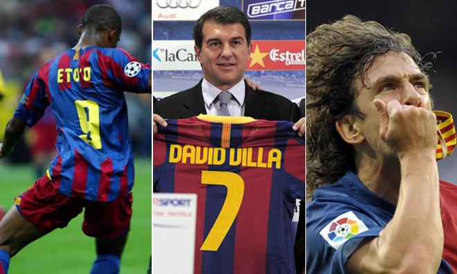 El Barça fue el primero en introducir la bandera de su Comunidad en la camiseta. Fue en la 2005/2006. Con el paso de los años, la senyera ha ido ganando peso en la camiseta blaugrana. Además, sus colores nunca faltan en el brazalete del capitán Puyol.