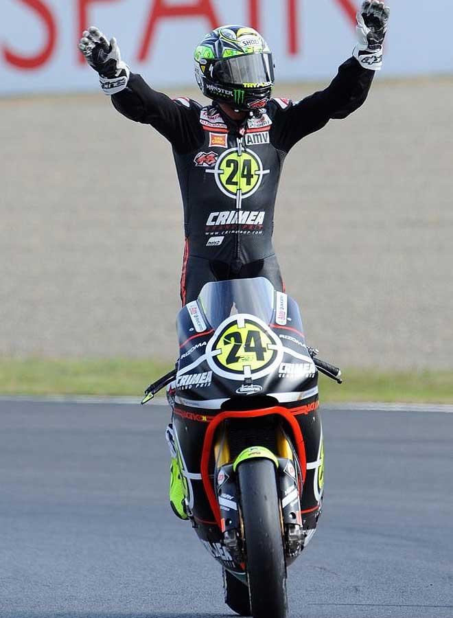 Toni El�as se qued� cerca de ganar el t´tiulo de Moto2, que puede ser suyo en una semana en Malasia.