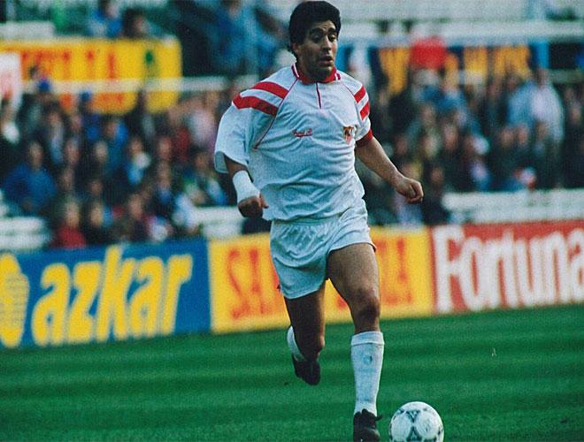Diego recal� en el conjunto andaluz tras cumplirse la sanci�n de la FIFA