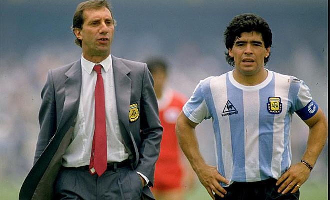 La carrera de Maradona siempre ha estado ligado a Bilardo. Ambos coincidieron en Boca Juniors y la selecci�n argentina.