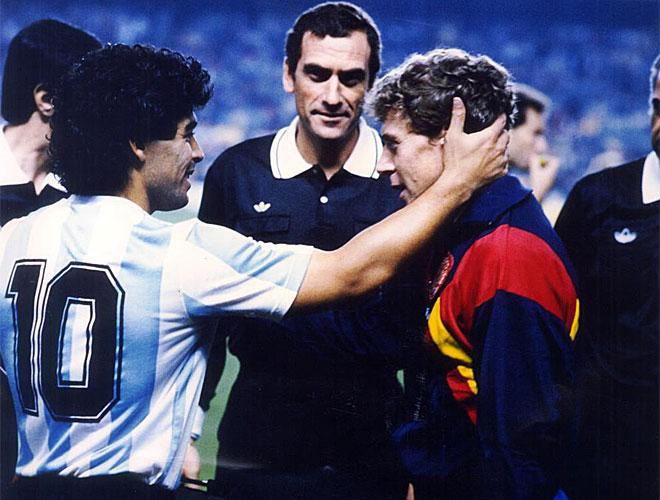 La Argentina de Maradona desembarc� en Espa�a dispuesta a comerse el mundo pero ni siquiera El Pelusa evit� la decepci�n.