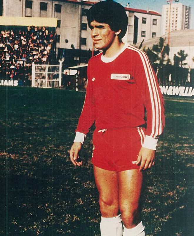 Maradona debut� con el equipo de Buenos Aires en 1976. Era su primer paso hacia una carrera para el recuerdo.