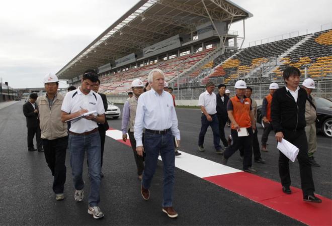 Los inspectores de la Federaci�n Internacional del Autom�vil (FIA) han dado luz verde este martes para que se dispute el Gran Premio de Corea del Sur. As� se encontraron el circuito.