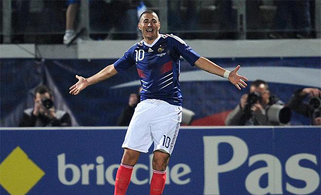 El delantero del Madrid se aprovech� de la d�bil Luxemburgo para reencontrarse con el gol. Francia lo agradeci�.