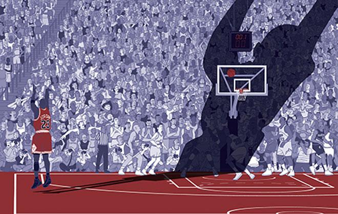 En Estados Unidos han editado el libro The Undisputed Guide to Pro Basketball History (http://www.freedarko.com/history/) , en el que ofrecen unas originales l�minas en las que se resume parte de la historia de la NBA.