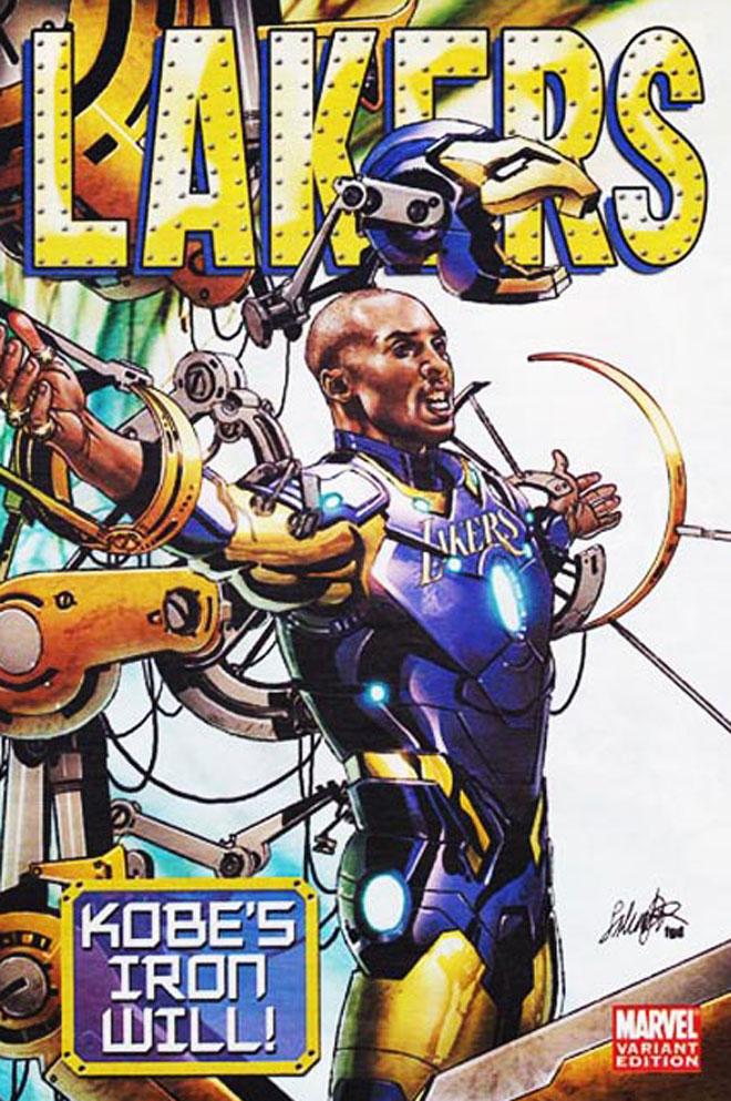La cadena ESPN y la Marvel han creado unas originales portadas para una de las franquicias NBA. Ironía, algo de sátira y calidad para definir en clave superhéroes a todas las franquicias NBA.