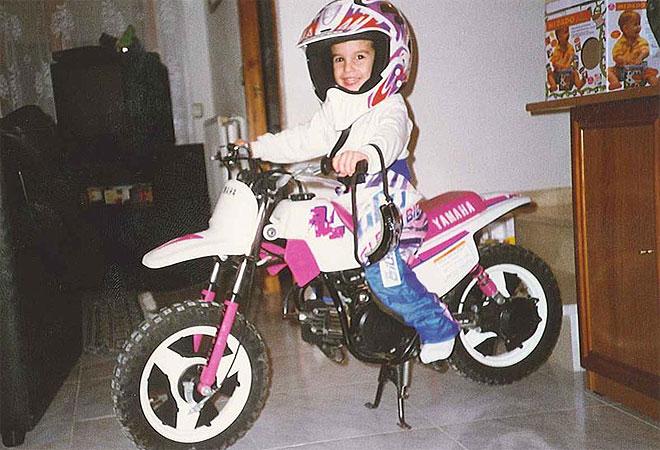 De esta forma comenzó el idilio entre Marc y las motos.