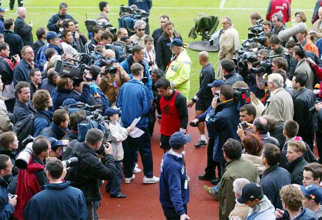 La final de Liga de Campeones 2001/02 estuvo marcada por la enorme expectaci�n por parte de los aficionados.