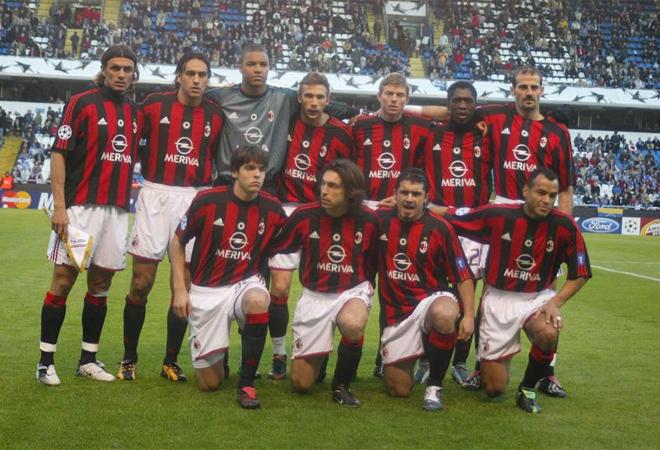 El Milan se presentaba en Riazor despu�s de ganar en la ida de los cuartos de final por 4-1 y con unos jugadores de gran calidad.