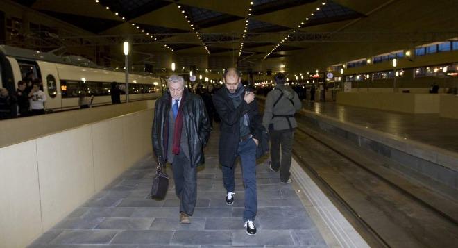 'Viaja como puedas', era uno de los titulares que recog�an los peri�dicos nacionales. Todo el mundo estaba pendiente de que si el Barcelona llegar�a a tiempo o no a su duelo con Osasuna en Pamplona.