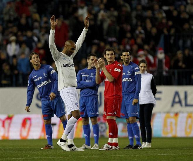 Kanout�, Iker, Ramos... todos se lo pasaron en grande por una buena causa.
