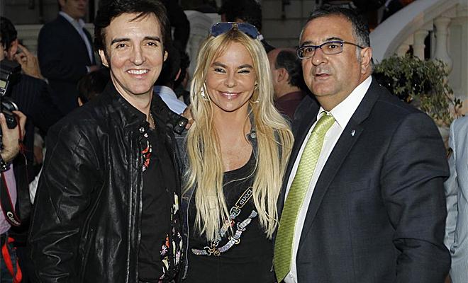 Leticia Sabater y Ramonc�n fueron algunos de los integrantes del mundo del espect�culo que acudieron al Foro MARCA Ballesteros
