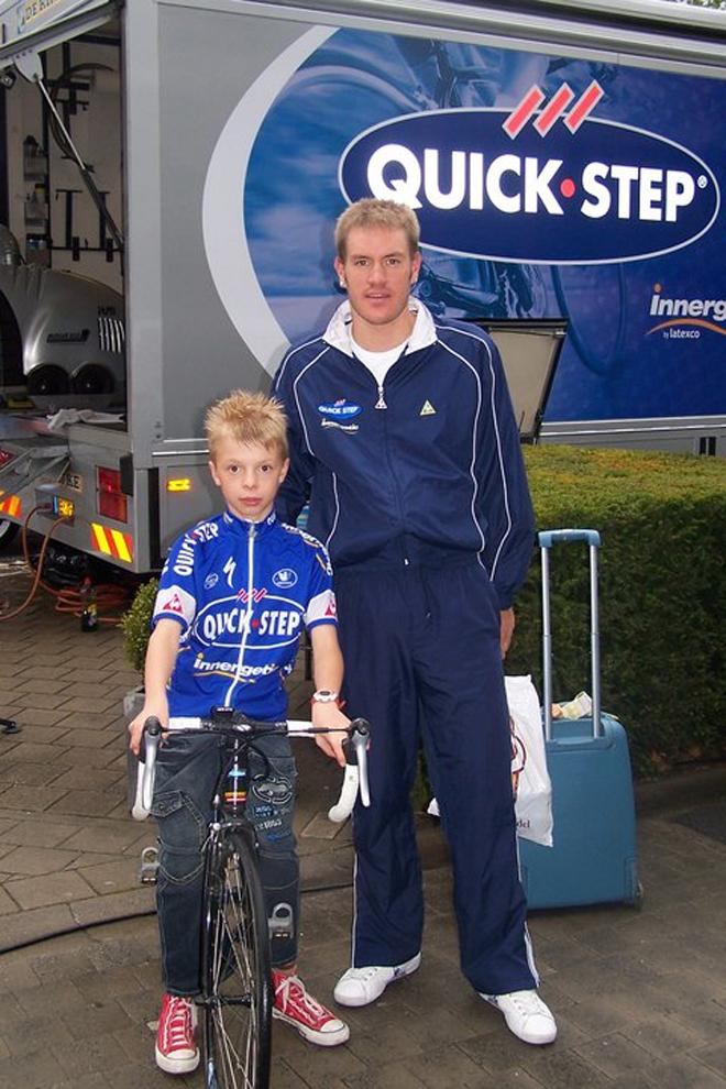 Debido a su juventud, Weylandt era uno de los ciclsitas más accesibles del pelotón
