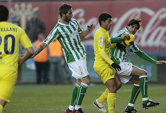 El capit�n del Betis ha jugado menos minutos que otras temporadas al no ser tan fundamental para Pepe Mel.