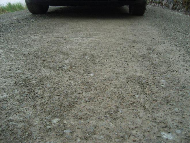Durante los primeros 8 kil�metros los tramos est�n sin asfaltar.