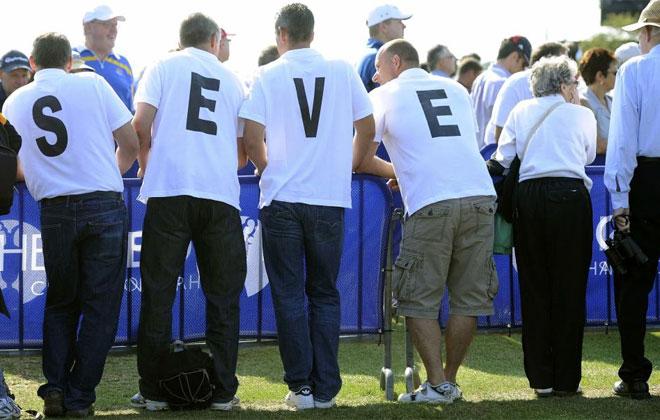 Durante todo el Open se han visto gestos acordándose de Seve.