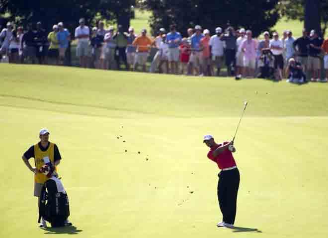 Tiger Wood no est� desplegando su mejor juego en el PGA.