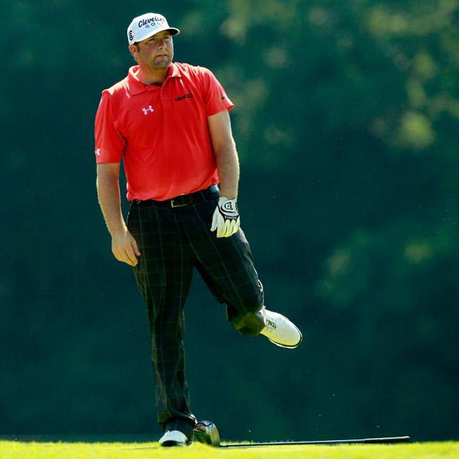 El estadounidense, Steve Marino se siente frustado tras no poder superar el corte en el PGA Championship.