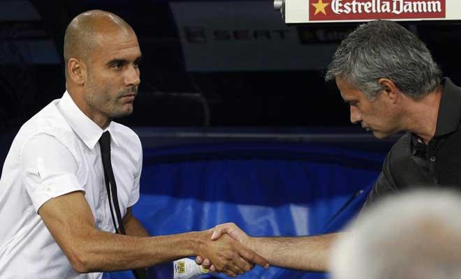 Cundió el respeto y Mourinho acudió a saludar a Guardiola. Protocolo cumplido.