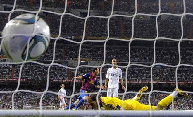 Son buenos amigos. Tienen imán. Siete en el Bernabéu ha marcado la Pulga.