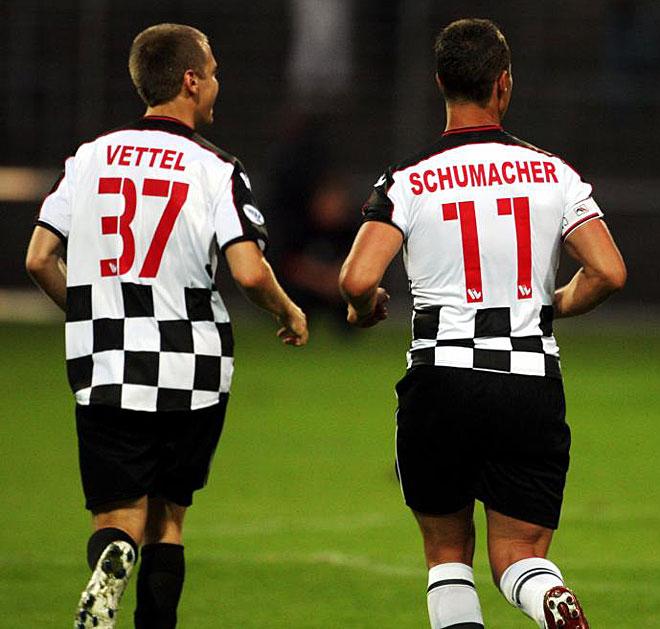 Jugando Al Futbol Con Schumacher Fotogaleria Marca Com