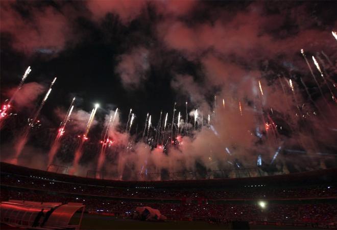 El Estadio La Libertad fue la sede donde se celebró la ceremonia de apertura de la Copa de África 2012.