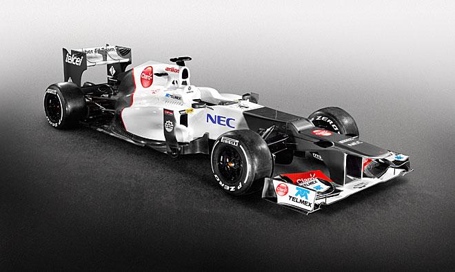 Sauber presentó su nuevo monoplaza para la temporada 2012, el C31.