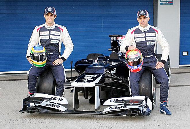 Williams recupera adem�s el motor Renault con el que consigui� sus mejores �xitos a principios de los 90 con Nigel Mansell y Alain Prost.